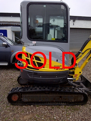 New Holland Kobelco - E27.2 SR SOLD