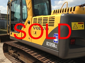 SOLD Volvo - EC135BLC SOLD
